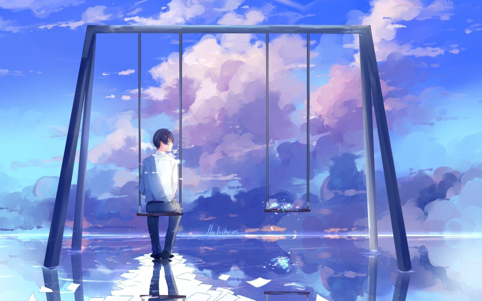 Anime Lluluchwan Art Animeboy Handsome Artist Drawings Anime Cover Photo Anime Anime Art Beautiful