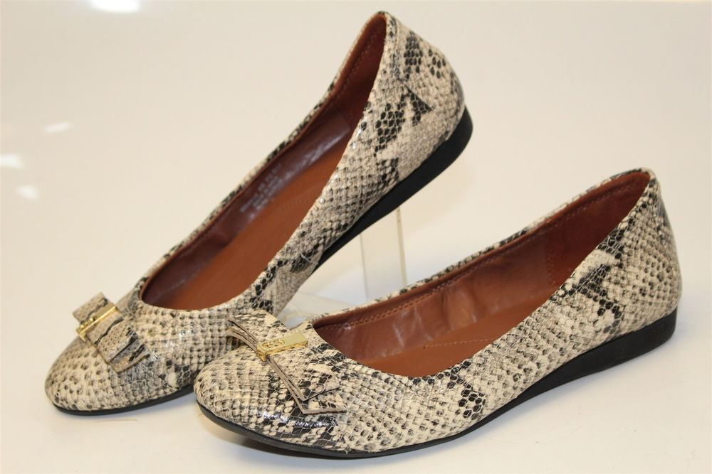 2321873b5193 Cole Haan Womens 8 B Elsie Ballet Flats Roccio Snake Print Shoes W04928 gr   fashion  clothing  shoes  accessories  womensshoes  flats (ebay link)