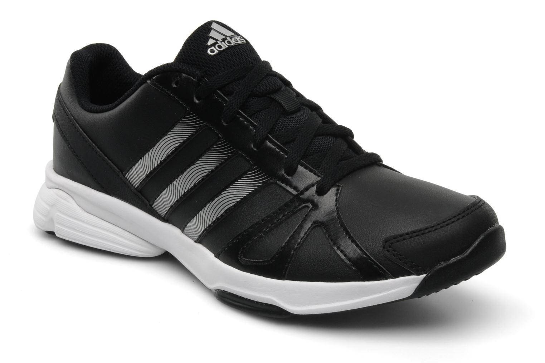zapatillas negras adidas mujer