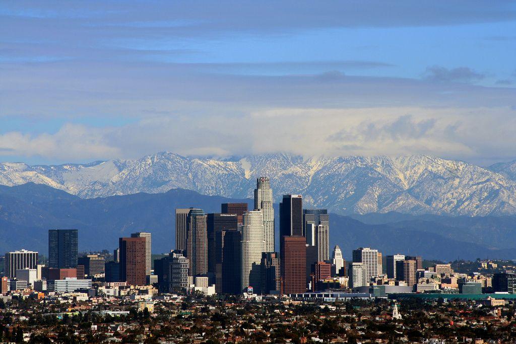 La San Gabriel Mountains California Wikipedia Los Angeles Tourism Los Angeles Attractions Los Angeles Skyline