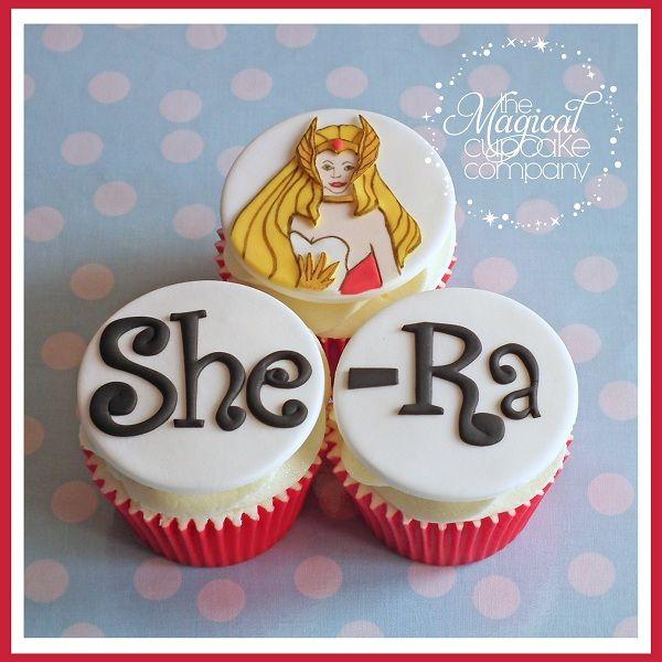 She-Ra Cartoon Cupcakes on Craftsy