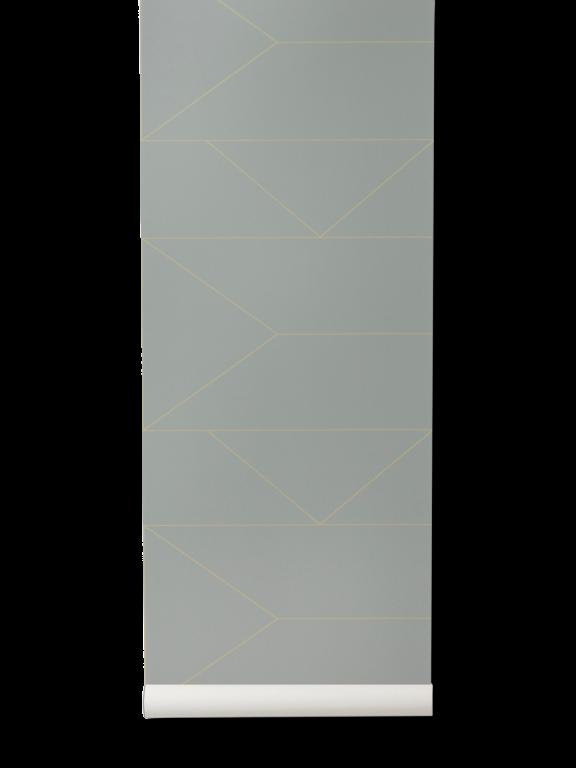 Ferm Living | Lines Wallpaper | Various Colours - Grey