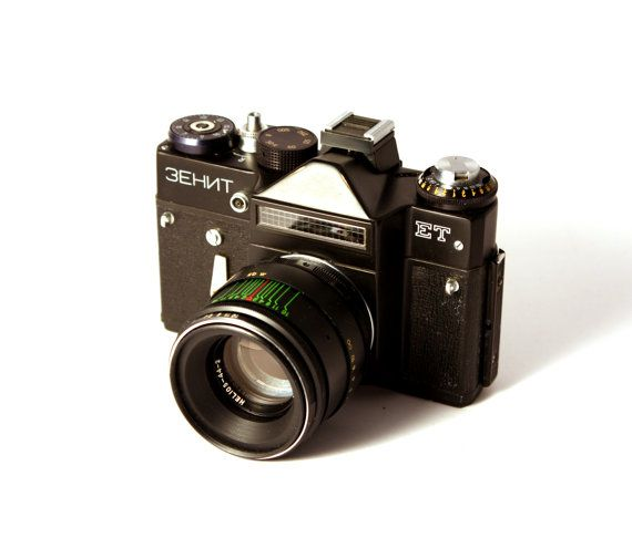 Zenit Et Film Camera With Helios Lens 442 2 58mm By Wolfonline
