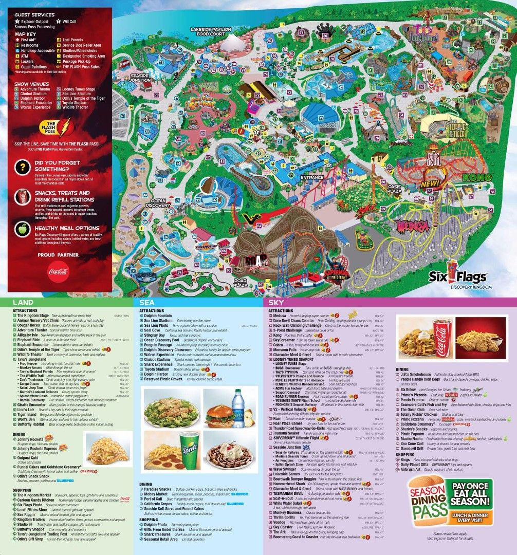 Image result for six flags vallejo   Adventures in California   Six ...