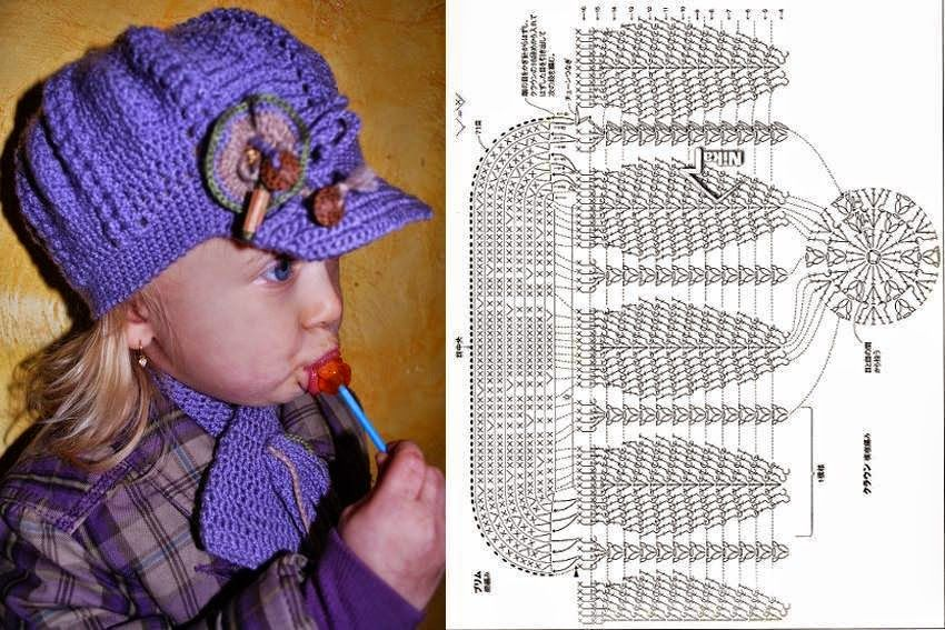 5 diseños de gorros super lindos al crochet | Crochet y dos agujas ...