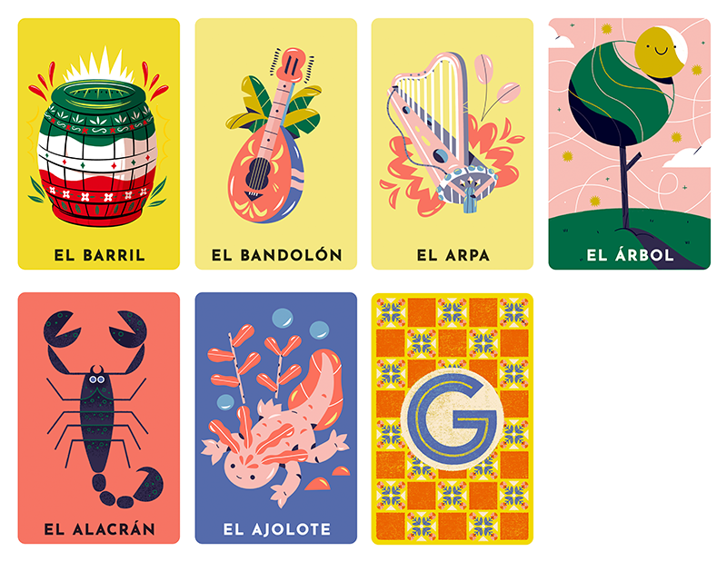 Google Doodle Loteria (With images) Doodles