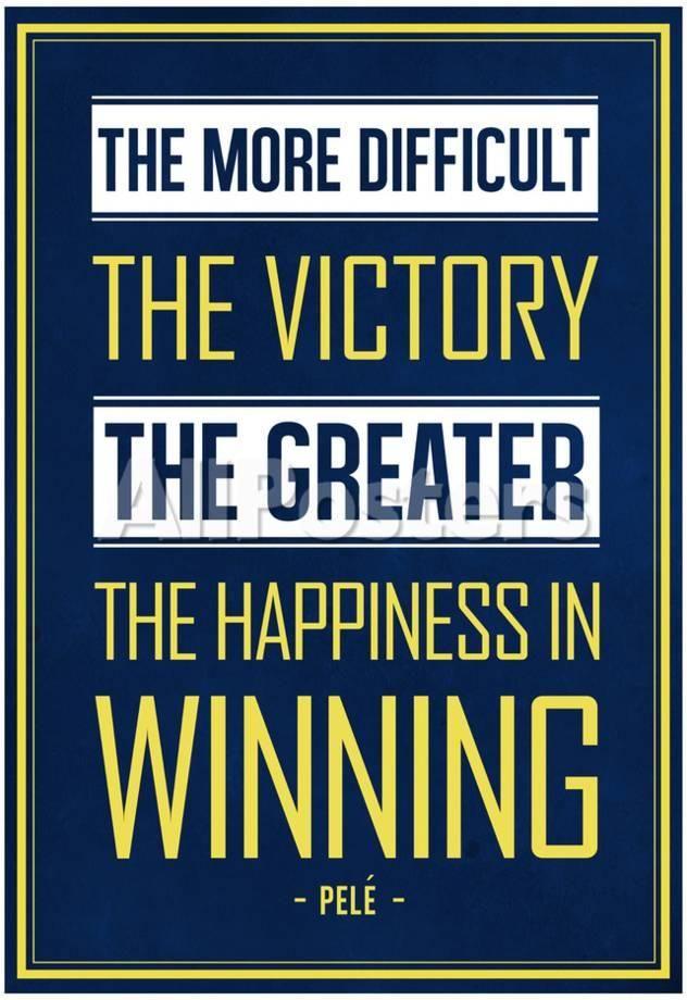 Winning Quotes Amazing Pele Winning Quote Brazil People Poster 48 X 48 Cm People