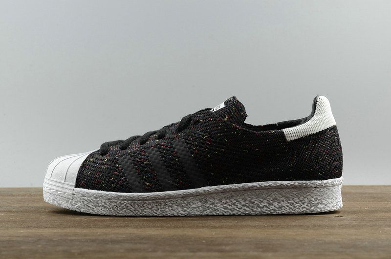 857e4b071bc8 Buy Unisex Adidas Superstar 80s Primeknit Black White S75844