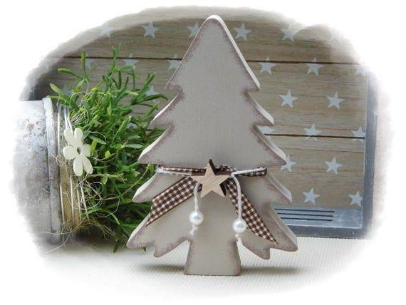Deko Tanne Aus Holz Weihnachtsdekoration Gastgeschenk Wohndeko