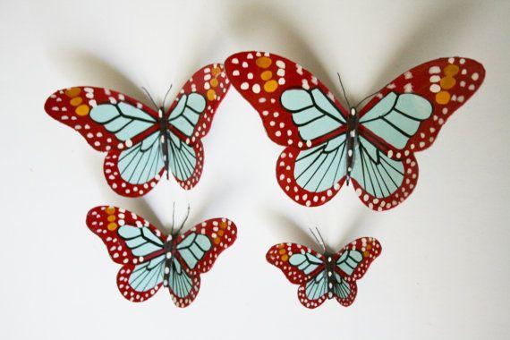 Imanes de mariposa