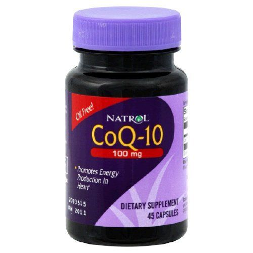 Natrol - Co Q 10, 100 mg, 45 capsules by Natrol. $4.99. NATROL CoQ-10 100mg CoQ-10 Has Been Clinically Shown to Promote a Healthy Heart+ 45 SOFTGELS DIETARY SUPPLEMENT Natrol CoQ-10 is a natural antioxidant essential for cells to work efficiently in the heart and throughout the body. CoQ-10 levels in the human body decrease with age, making it harder to convert fats and sugars into energy. CoQ-10 is complementary with statin drugs and as such can be used as part of a daily regime...