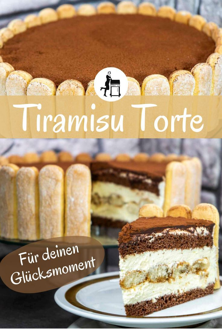 Tiramisu-Torte: Für den kulinarischen Urlaub zuhause