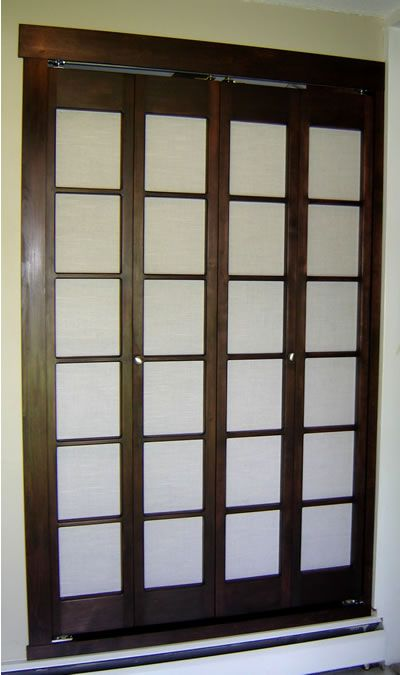 Customized Closet Doors & Consider Louver Doors For Circulation