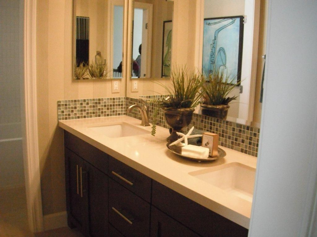 Small Bathroom Vanities And Sink You Can Crunch Into Even The Teeny Bathroom With Images Bathroom Sink Vanity Double Sink Bathroom Double Vanity Bathroom