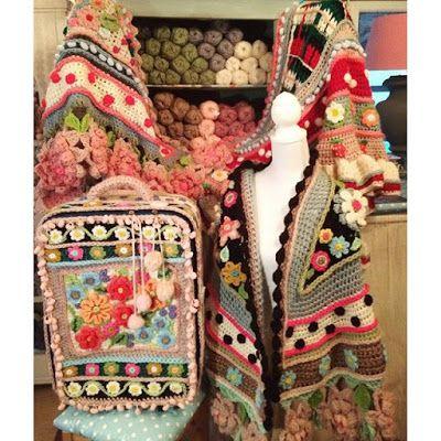 Irish crochet &: Adinda Zoutman   Put Your Sticks in the Air ...