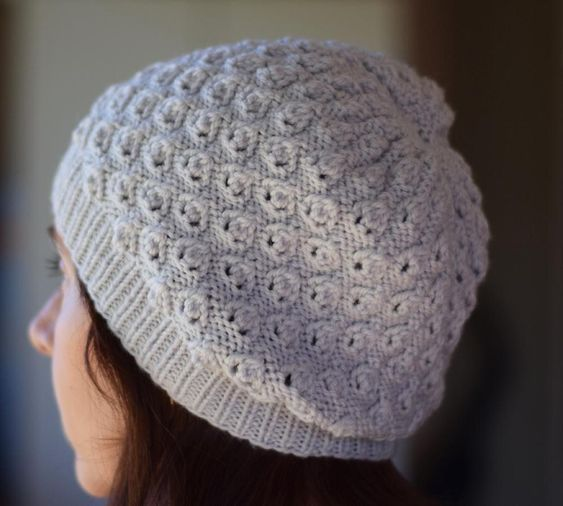 Linden Slouchy Hat Knitting pattern by Jo-Anne Klim ...