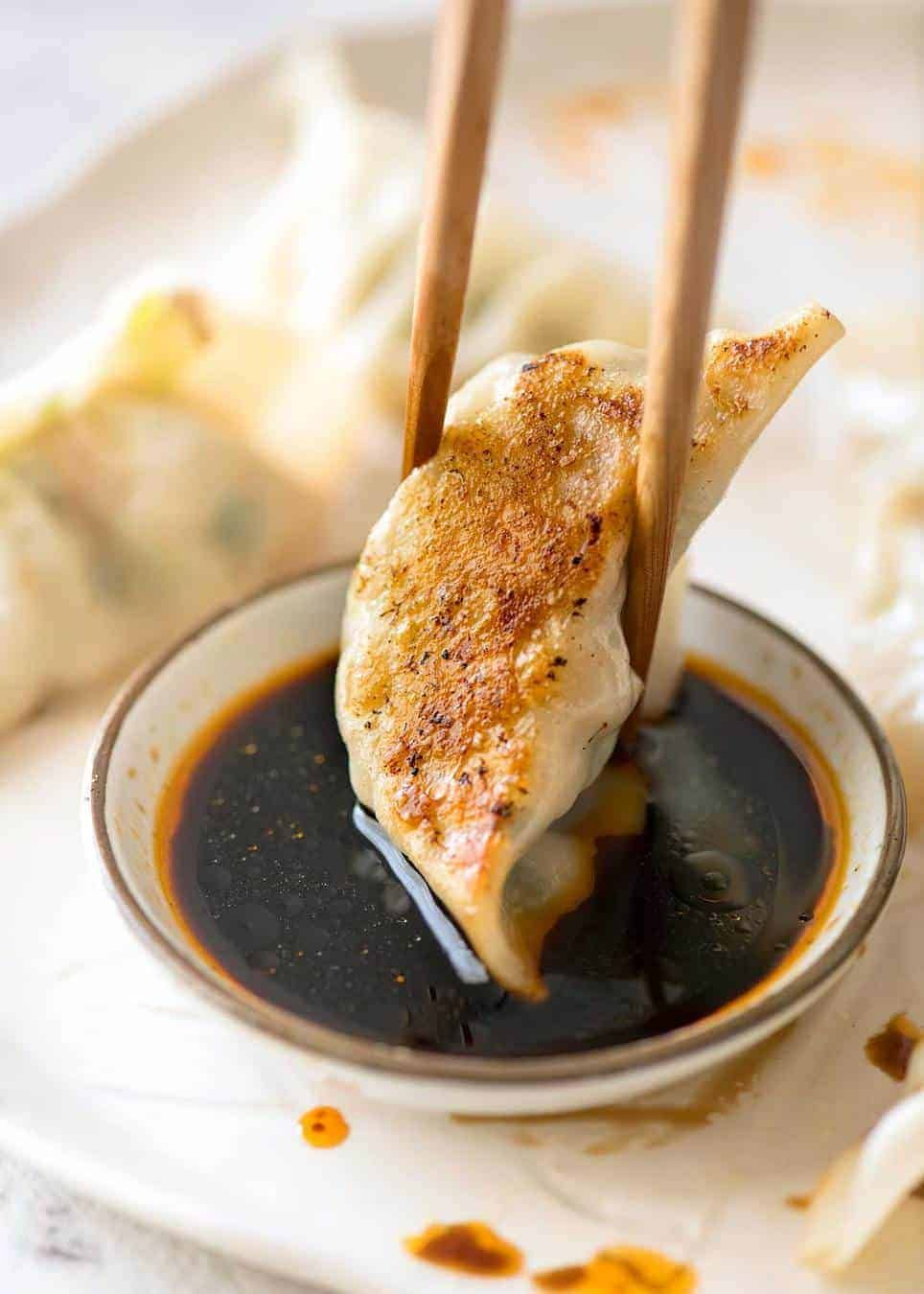 Potstickers Recipe With Images Recipetin Eats Pan Fried