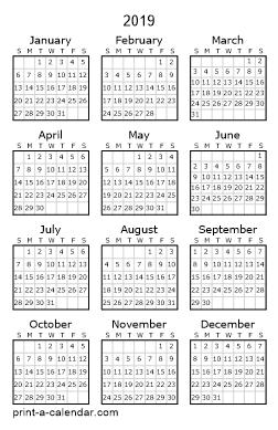 Make Your Own 2018 2019 Or 2020 Printable Calendar Pdf Printable Calendar Pdf Calendar Pdf 2017 Printable Calendar