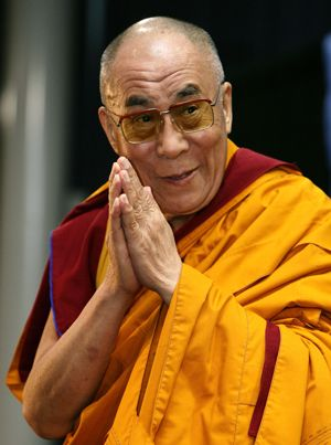 His Holiness the 14th Dalai Lama may spend every day in the traditional  robes of a Buddhist monk 0df6f6fec682