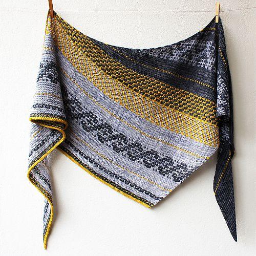 Slip Knit Love pattern by Lisa Hannes | Tücher, Stricken und ...
