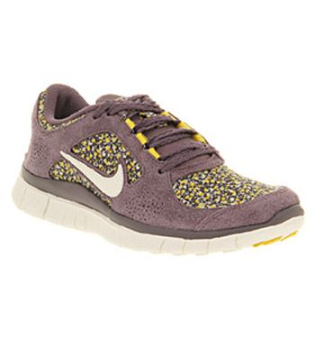 Nike Free Run 3 Dark Plum Sail Sunlight Floral Liberty Exclusive Shoes Nike Trainers Nike Free Running Nike Free