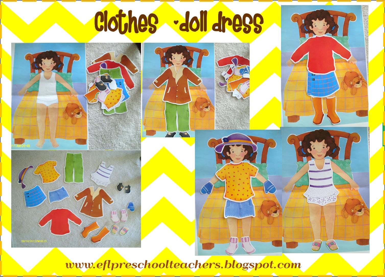 Clothes Theme for Preschool ELL Preschool themes