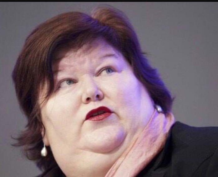 The health minister of Belgium.   Ghetto people, Maggie de ...