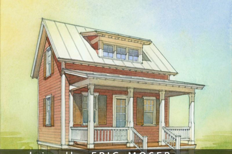 Cottage Style House Plan 1 Beds 1 Baths 633 Sq Ft Plan 514 8 Cottage Style House Plans Cottage Style Homes Cottage House Plans