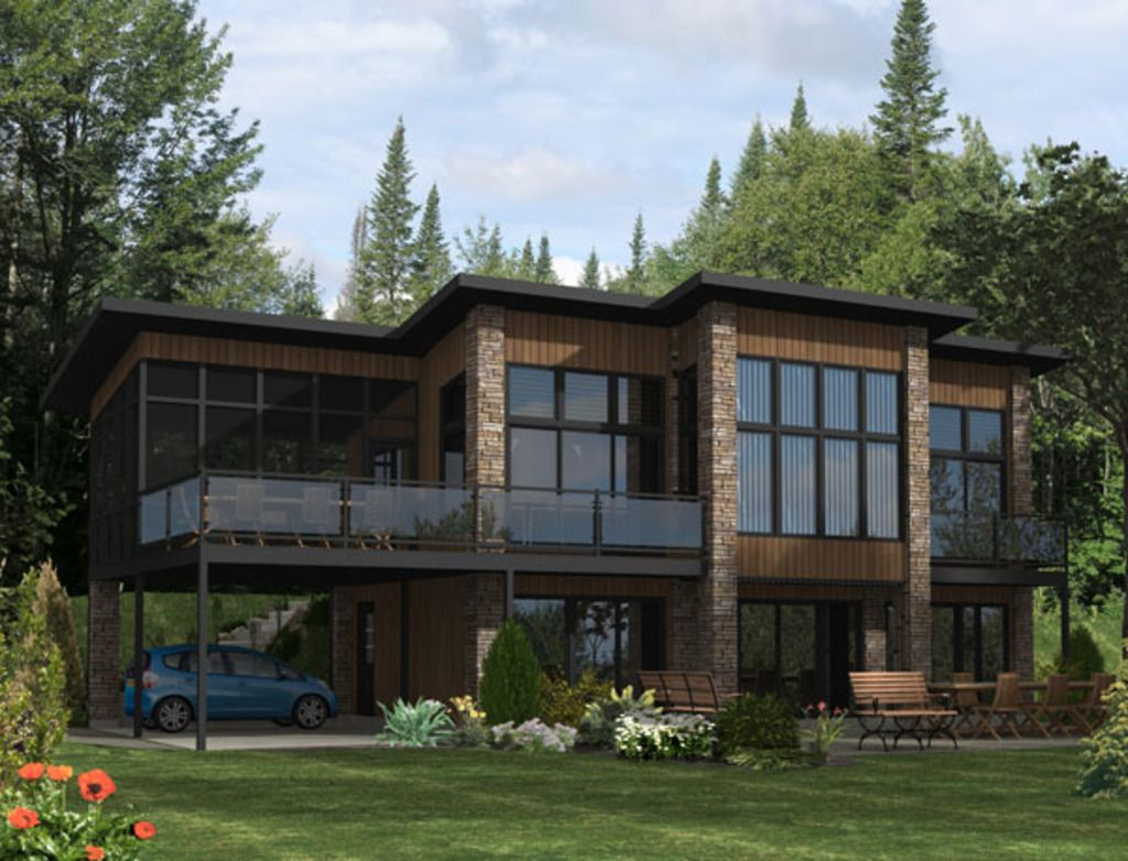 ultra modern single family 3 bedroom residential architecture