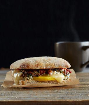 Vegetable Fontiago Breakfast Sandwich Breakfast Sandwich Food Breakfast Brunch