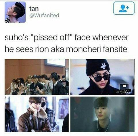 His face when he saw that sasaeng gosh   EXO   Luhan