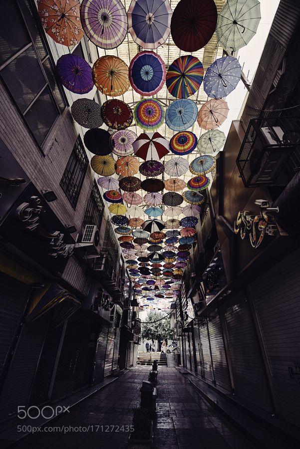 A place where Mary Poppins parked her umbrella by raimondasidaraite