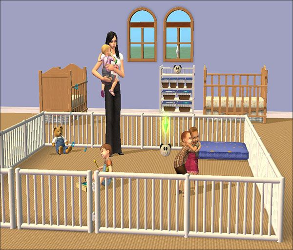 Mod the sims tiny tikes nursery necessities brand new modded objects ts2 - Sims 3 babyzimmer ...