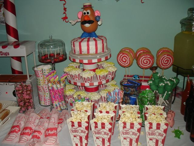 Games To Play At Toy Story Birthday Party : Toy story midway mania carnival birthday party ideas