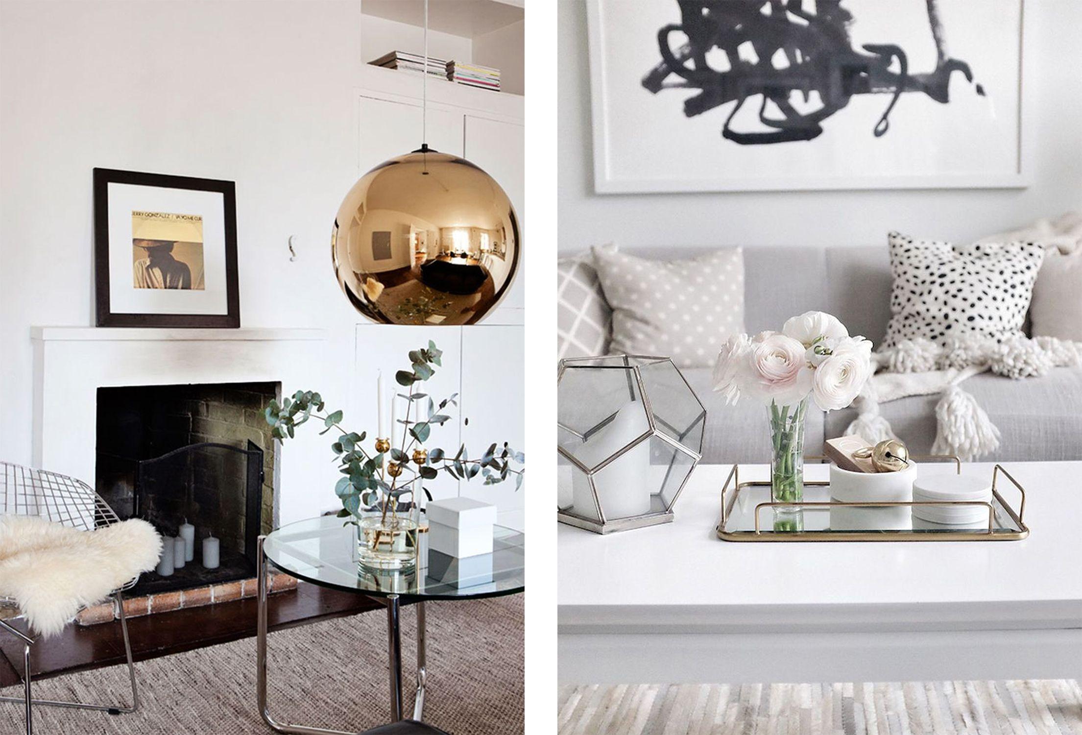 Mixed Metals In The Living Room Darci Hether Living Room Living Room Designs Living Room Decor Metallic living room decor