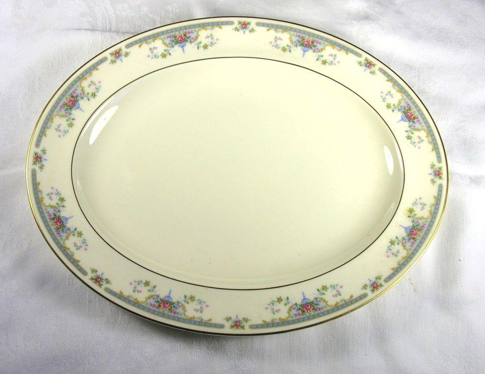 Royal Doulton Romance Juliet 13.1/2 Oval Serving Platter H.5077 - Excellent