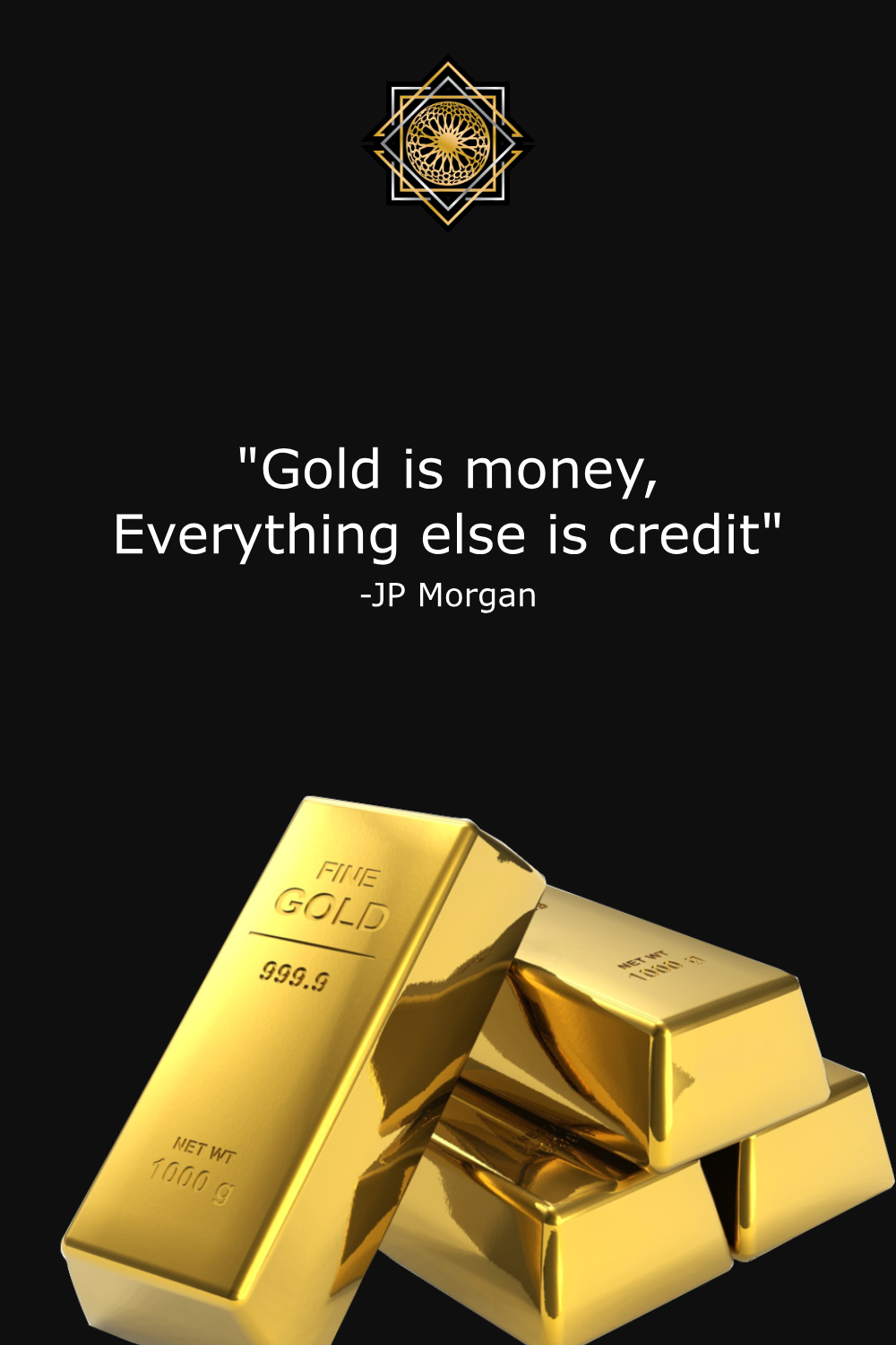 Gold Is Money Everything Else Is Credit : money, everything, credit, Currency., Finance,, Global,, Currency