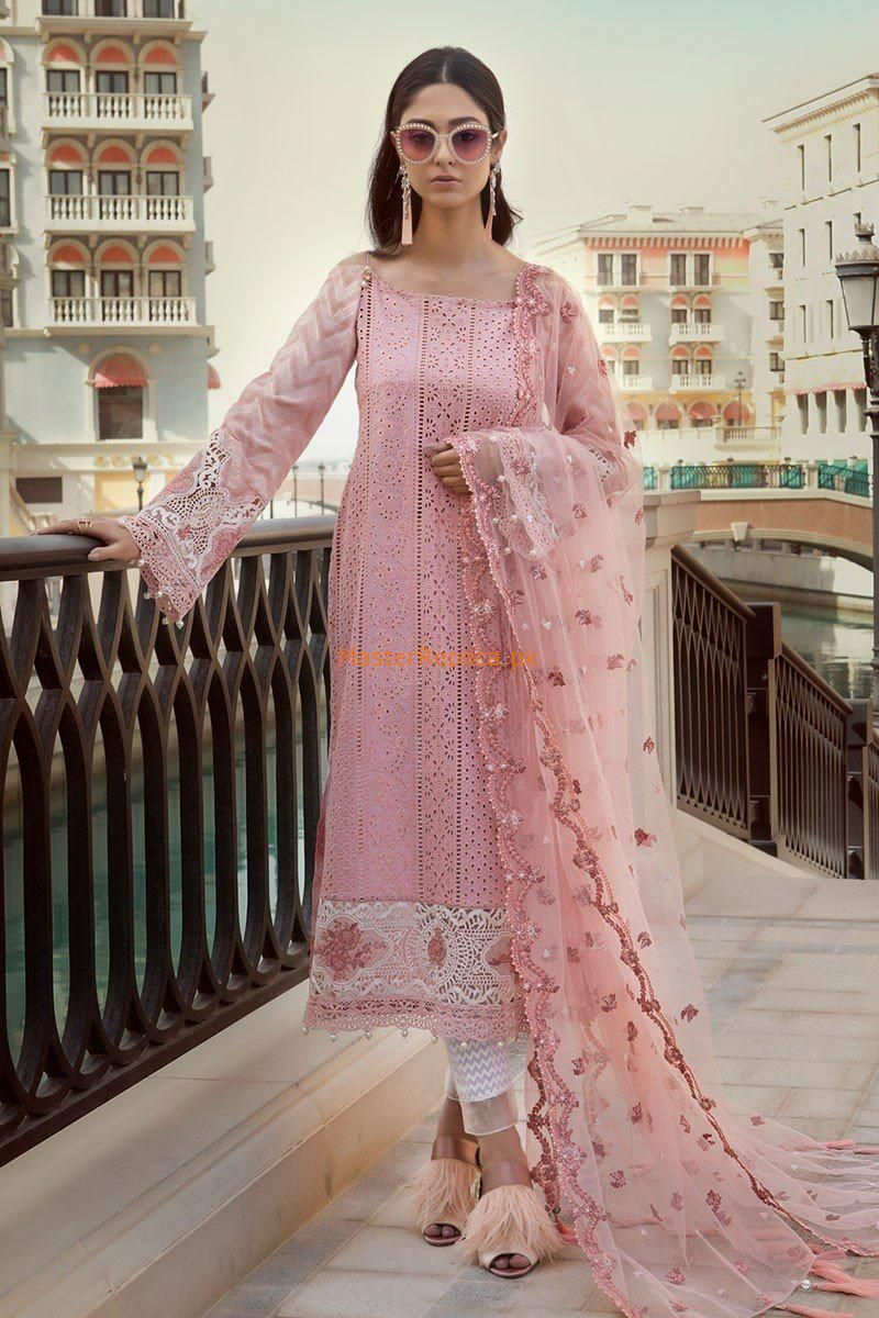 Maria B Sana Safinaz Clothes, Shoes & Accessories Khaadi 100% Original Embroidred Designer Unstitched Suit