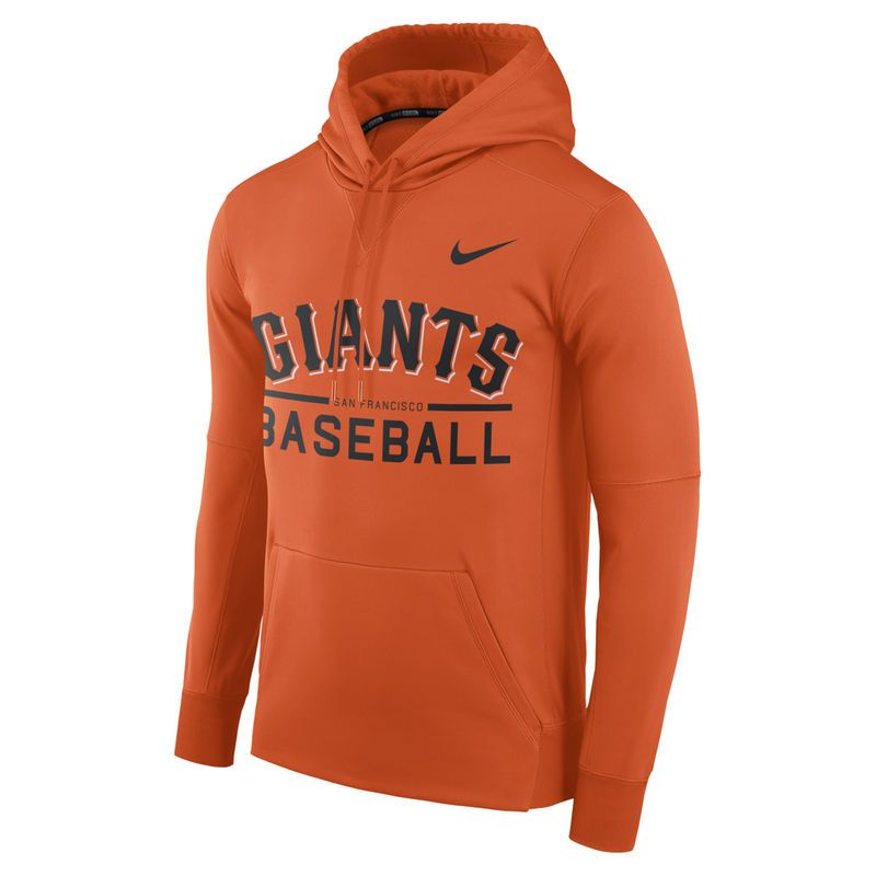 check out 24332 9f7cb San Francisco Giants Nike Pullover Hoodie - Orange in 2019 ...