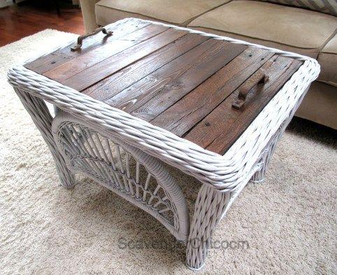 Did Your Tabletop Glass Break Pallet Furniture Outdoor Wicker Coffee Table Wicker Table