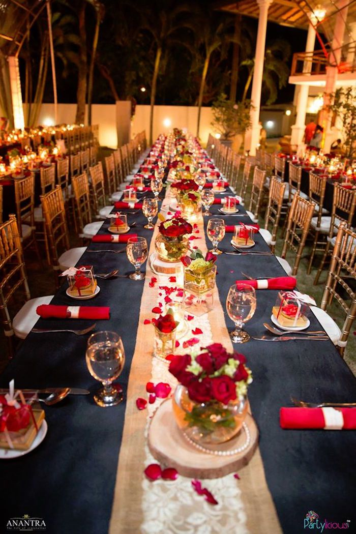 Lovely Dinner Birthday Party Ideas Part - 4: Candlelit Dining Table From A Rustic Vintage 21st Birthday Party On Karau0027s Party  Ideas | KarasPartyIdeas