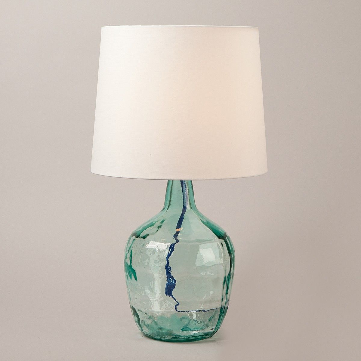 Recycled Glass Table Lamp | Wicker Emporium Wish List ...