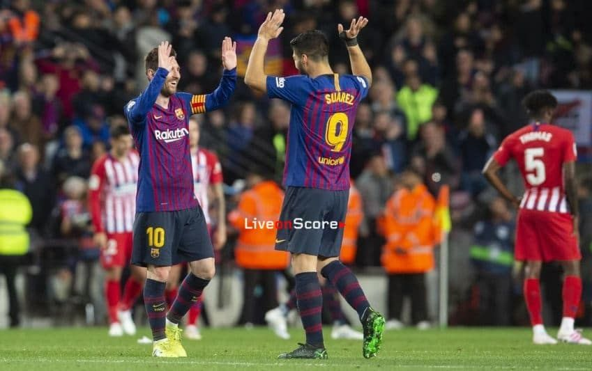 11 Point Lead With Seven Games To Go Barca Team Match Highlights La Liga