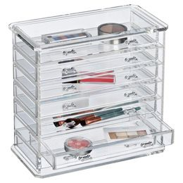 The Container Store Drawer Premium Acrylic Chest A New - Container store makeup organizer