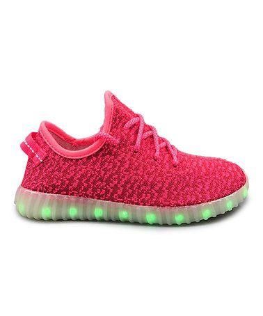 Loving this Fuchsia Light-Up Sneaker on #zulily! #zulilyfinds