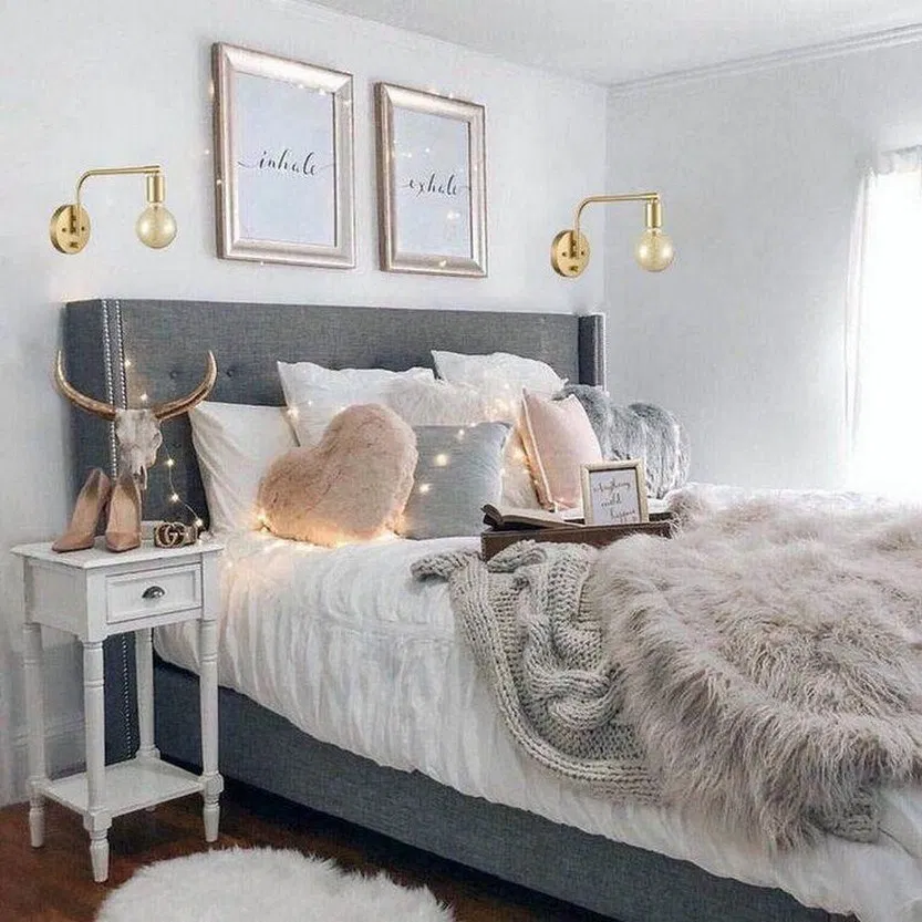 40 Bedroom Ideas With The Latest 2020 Fashion Trend Budget For You 31 Stylish Bedroom Beautiful Bedroom Decor Bedroom Decor