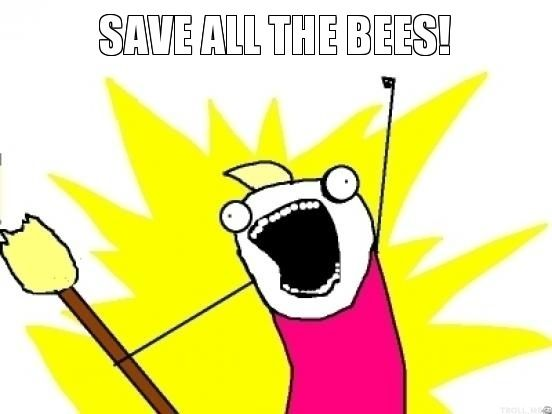 save all the bees!
