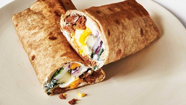 This Egg And Merguez Breakfast Wrap Is The Dinner Of Your Dreams Breakfast Wraps Recipes Breakfast Wraps Recipes