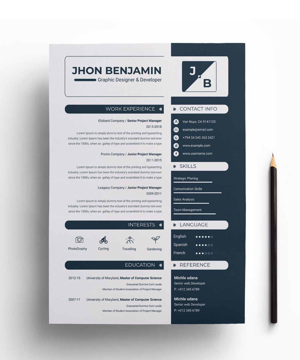 43+ Resume in french example inspirations
