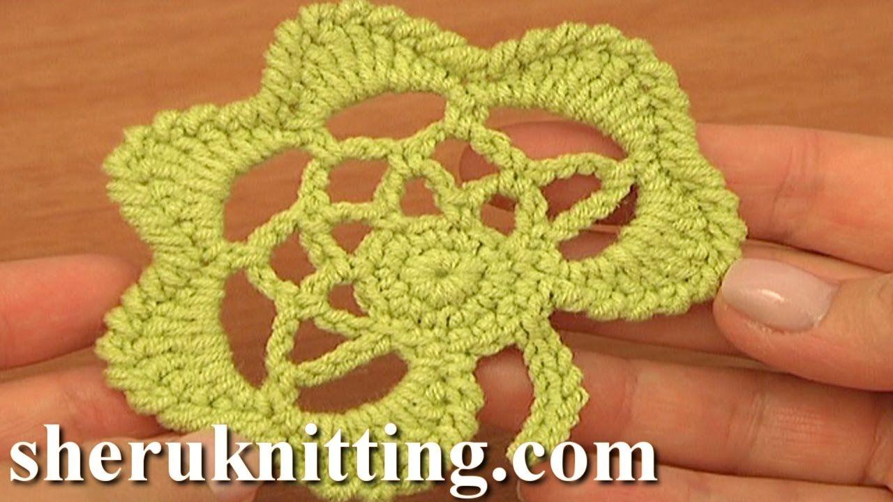 Crochet Leaf Pattern Tutorial 30 Easy Crochet Irish Leaf Motif ...